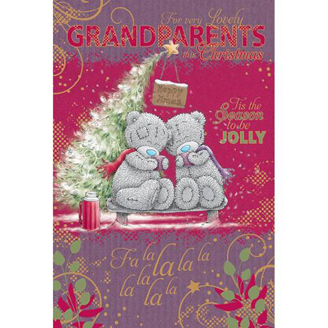 Grandparents Me to You Bear Christmas Card  £2.49