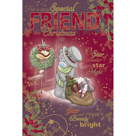 Special Friend Me to You Bear Christmas Card  £2.49