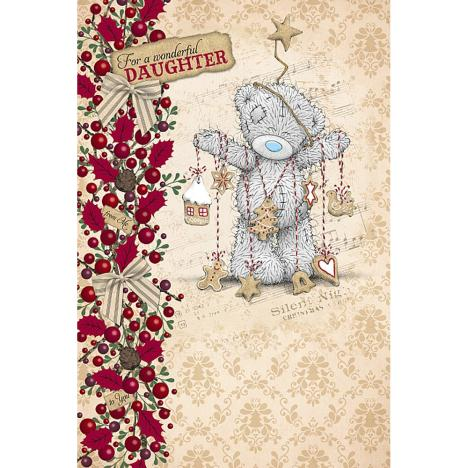 Wonderful Daughter Me to You Bear Christmas Card  £2.49