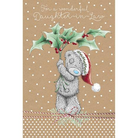 Daughter-In-Law Me to You Bear Christmas Card  £2.49