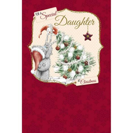Special Daughter Me to You Bear Christmas Card  £2.49