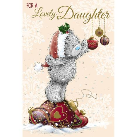 Lovely Daughter Me to You Bear Christmas Card  £2.49