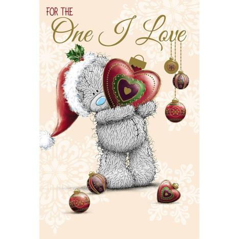 One I Love Me to You Bear Christmas Card  £2.49