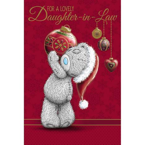 Daughter In Law Me to You Bear Christmas Card  £2.49