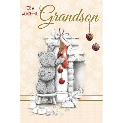Grandson Me to You Bear Christmas Card  £2.49