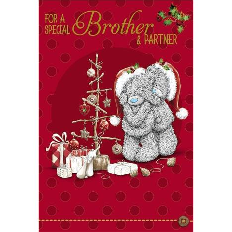 Special Brother and Partner Me to You Bear Christmas Card  £2.49