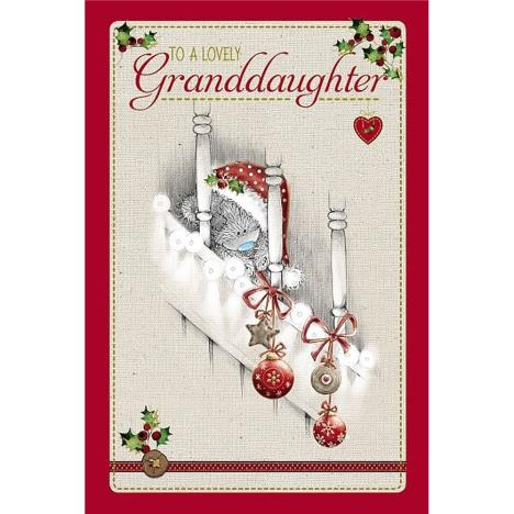 Lovely Granddaughter Me to You Bear Christmas Card  £2.49