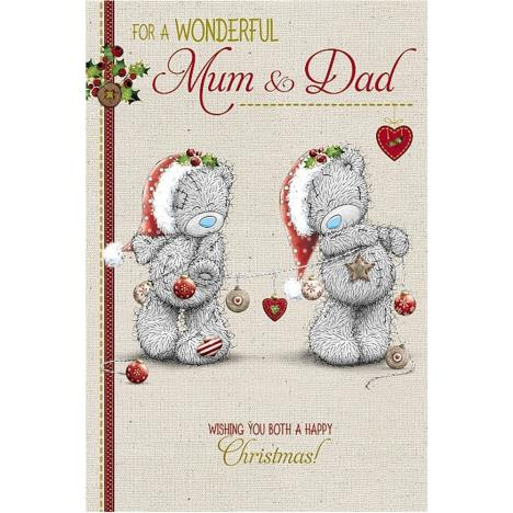 Wonderful Mum & Dad Me to You Bear Christmas Card  £2.49