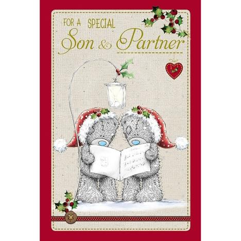 Special Son & Partner Me to You Bear Christmas Card  £2.49