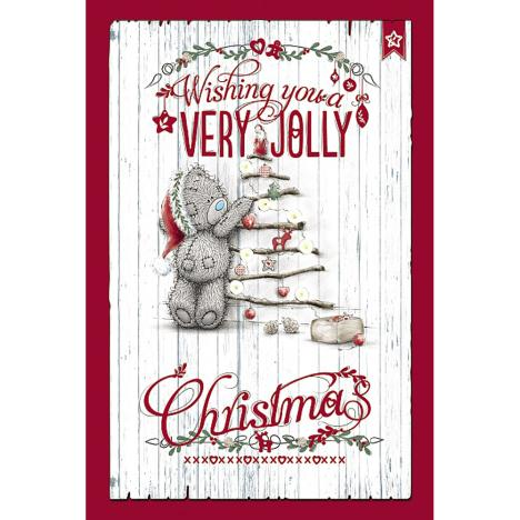 Very Jolly Christmas Tree Decs Me to You Bear Card  £3.99