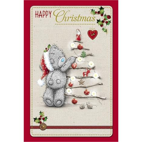 Happy Christmas Bear With Tree Me to You Bear Christmas Card  £3.99