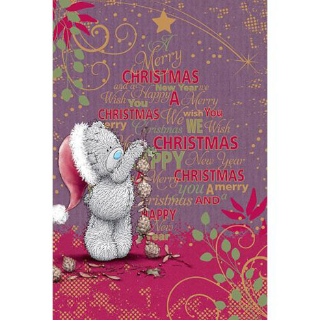 Merry Christmas Me to You Bear Christmas Card  £3.79