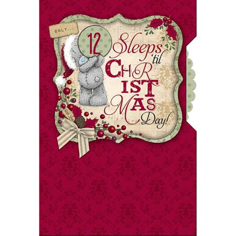 Sleeps Til Christmas Pop Up Me to You Bear Card  £3.79