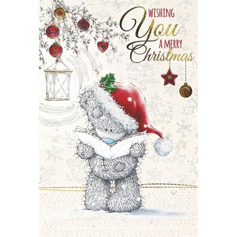 Tatty Teddy Reading Carols Me to You Bear Christmas Card  £3.79