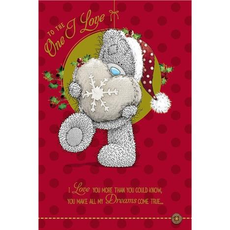 One I Love Pop Up Me to You Bear Christmas Card  £3.79
