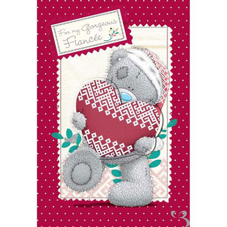 Fiancee Christmas Me to You Bear Card  £3.99