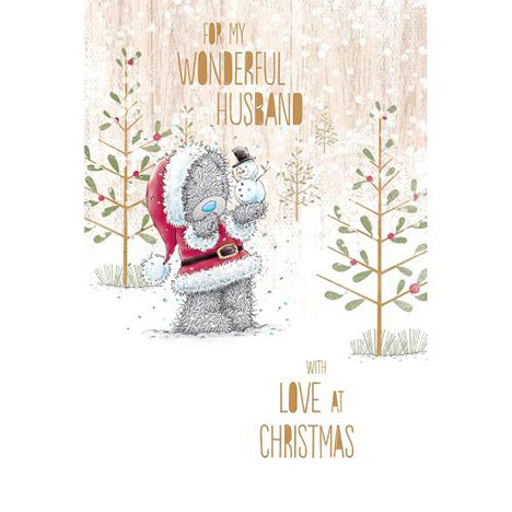 Husband Me to You Bear Christmas Card  £3.99