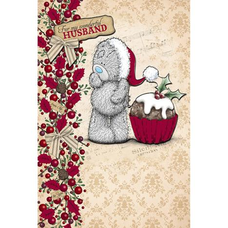 Wonderful Husband Handmade Me to You Bear Christmas Card  £3.99