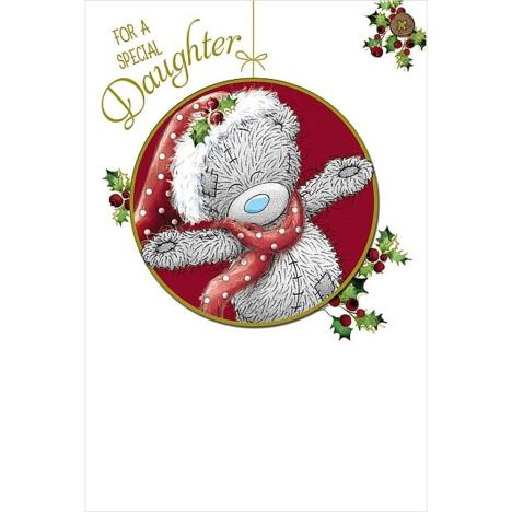 Special Daughter Me to You Bear Christmas Card  £3.59
