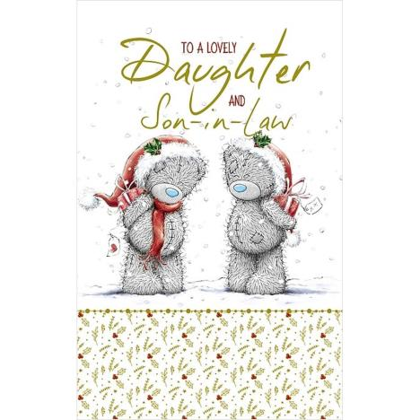 Lovely Daughter And Son-in-Law Me to You Bear Christmas Card  £3.99
