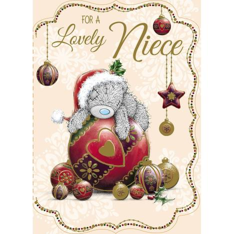 Lovely Niece Me to You Bear Christmas Card  £1.79