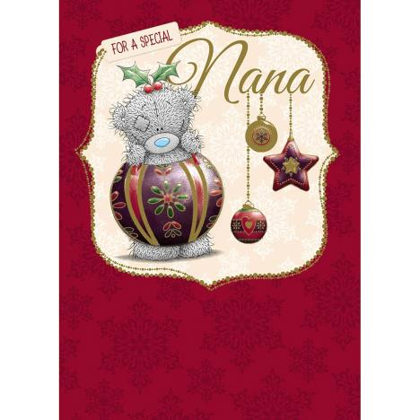 Nana Me to You Bear Christmas Card  £2.09