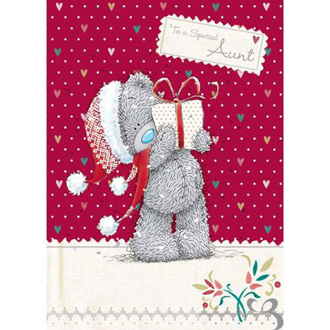 Aunt Me to You Bear Christmas Card  £1.79