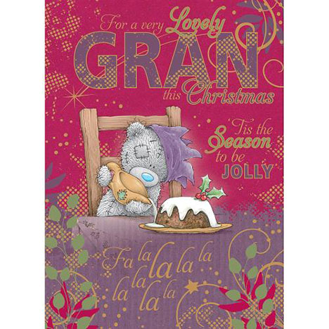 Gran Me to You Bear Christmas Card  £1.79
