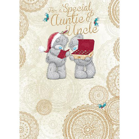 Auntie And Uncle Me to You Bear Christmas Card  £1.79
