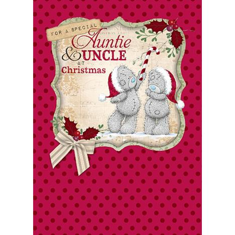Auntie & Uncle Me to You Bear Christmas Card  £1.79