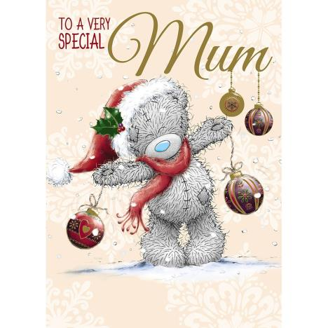Mum Me to You Bear Christmas Card  £1.79