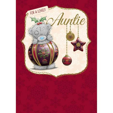 Auntie Me to You Bear Christmas Card  £1.79