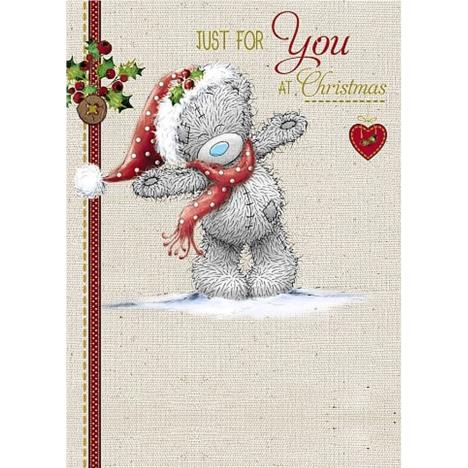 Just For You At Christmas Me to You Bear Christmas Card  £1.79