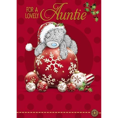 Lovely Auntie Me to You Bear Christmas Card  £1.79