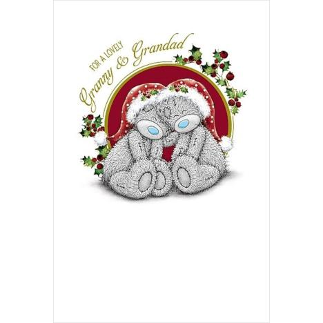 Lovely Granny & Grandad Me to You Bear Christmas Card  £1.79