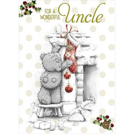 Wonderful Uncle Me to You Bear Christmas Card  £1.79