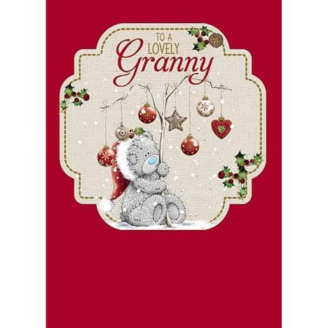 Lovely Granny Me to You Bear Christmas Card  £1.79