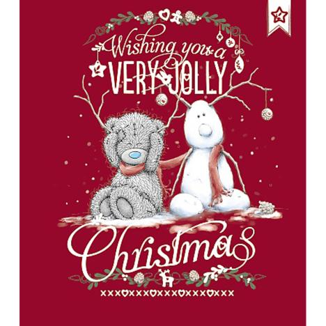 Very Jolly Christmas Me to You Bear Card  £1.89