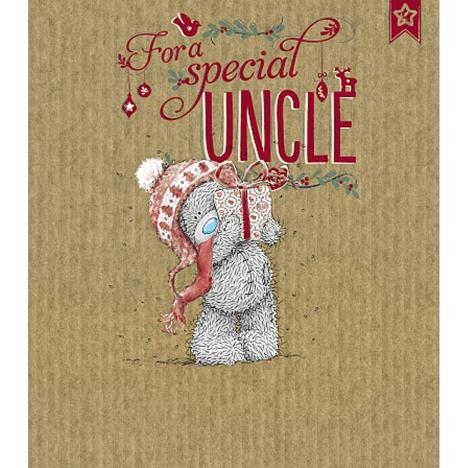Uncle Me to You Bear Christmas Card  £1.89