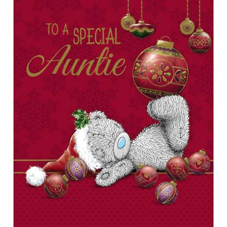 Auntie Me to You Bear Christmas Card  £1.89