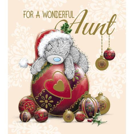 Aunt Me to You Bear Christmas Card  £1.89