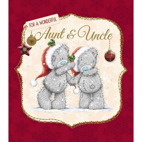Aunt And Uncle Me to You Bear Christmas Card  £1.89