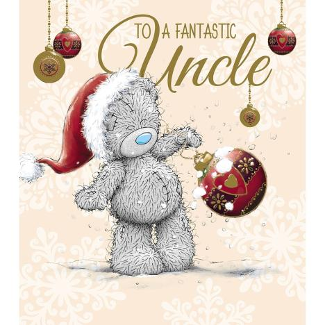 Fantastic Uncle Me to You Bear Christmas Card  £1.89
