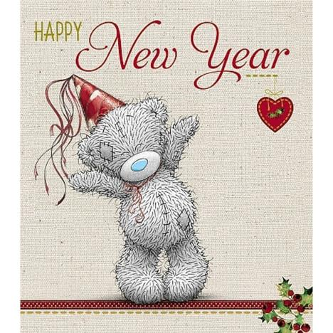 Happy New Year Me to You Bear Christmas Card  £1.89