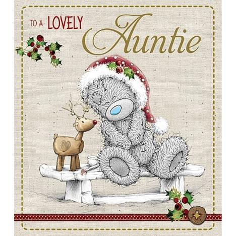 Lovely Auntie Me to You Bear Christmas Card  £1.89