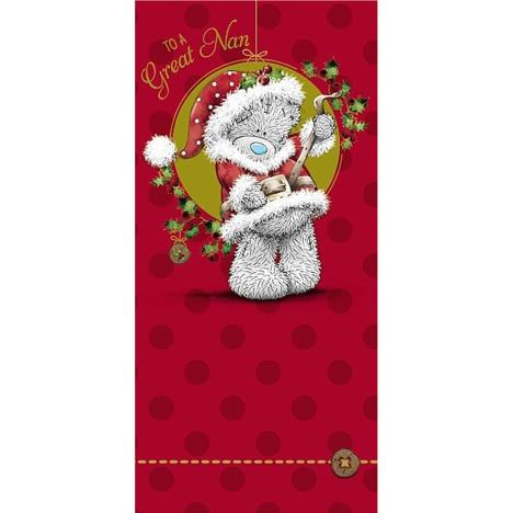 Great Nan Me to You Bear Christmas Card  £1.89