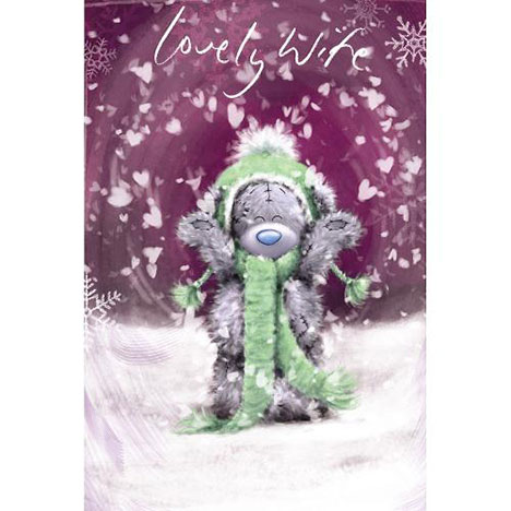 Wife Me to You Bear Christmas Card  £2.49