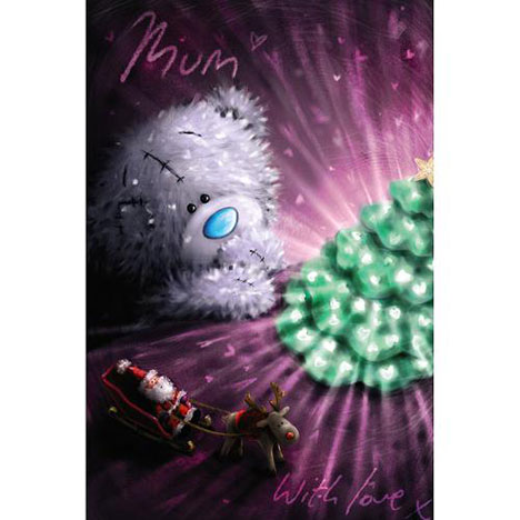 Mum Me to You Bear Christmas Card  £2.49