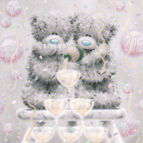 New Year Me to You Bear Card  £1.95