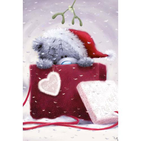 Girlfriend GIANT Poppet Me to You Bear Christmas Card   £10.00